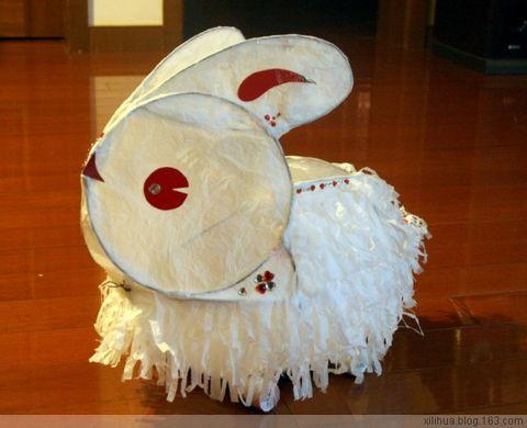 元宵节给宝宝制作手工兔子灯 [ 进行中..... ] - 小桃乐丝丝 - 小桃乐丝丝S 快乐家园 BLOG