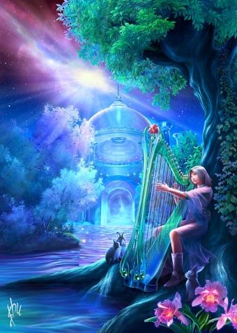 生命的天空(原创) - 真水无香  - 香格里拉 花开的地方