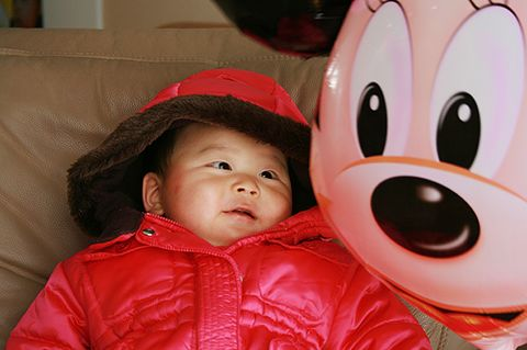 Peeke 最喜欢的礼物:米老鼠气球 - 令冲冲 - 飞越梦想