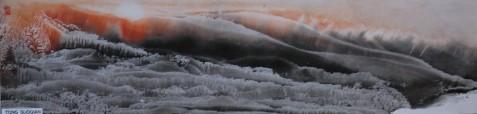 我的博友----无笔画家佟朔千【无笔画】 - 冰雪儿 - 冰天雪地