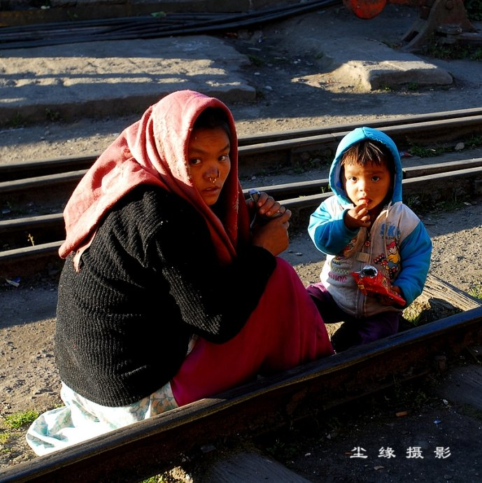 坐玩具火车玩转大吉岭 - Y哥。尘缘 - 心的漂泊