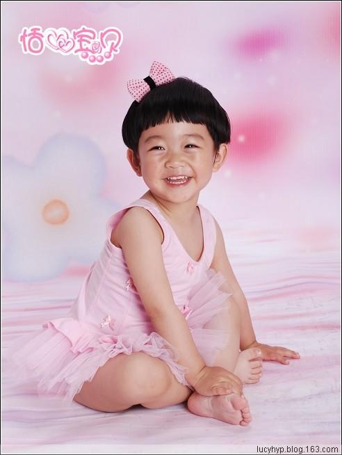 恬宝两周岁写真之芭蕾小精灵 - 恬心宝贝 - 恬宝贝的温暧小窝