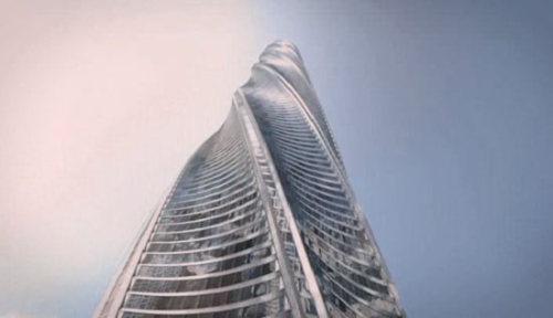 在建的世界第二高楼--芝加哥尖塔 - 梦里秦淮 - 周宁(梦里秦淮)的博客