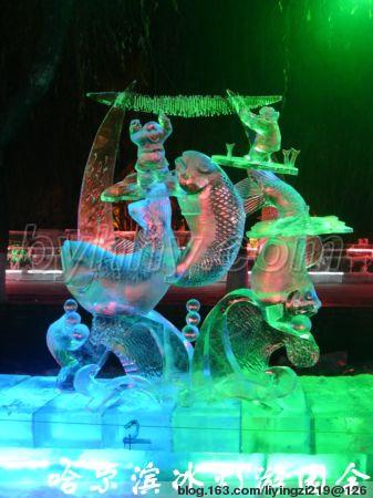 牛!绝美的哈尔滨冰雕艺术作品欣赏  - 理睬 - 理 睬