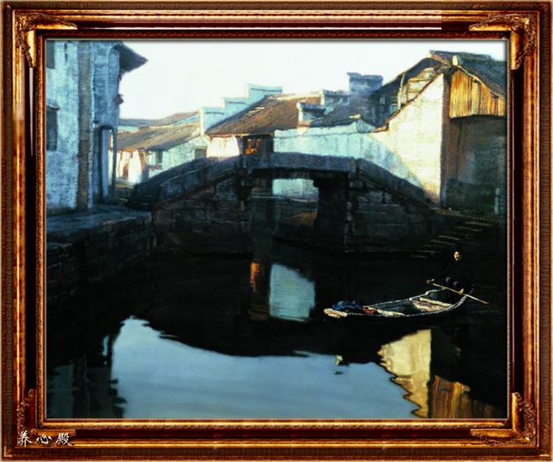 陈逸飞油画欣赏 - 端木秀禾 - 端木秀禾的博客