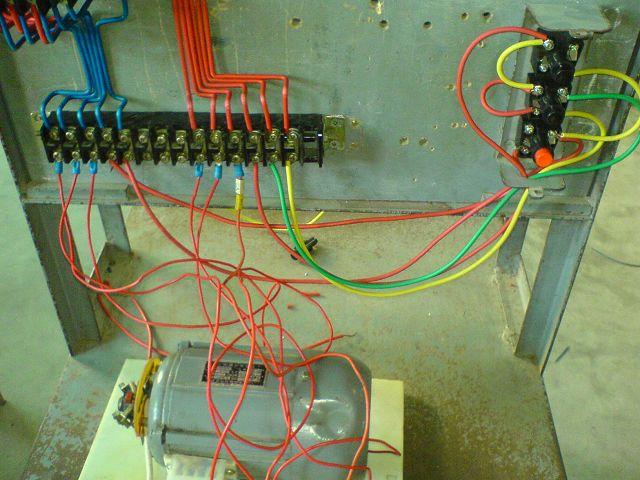 下面几张是电力拖动的接线图