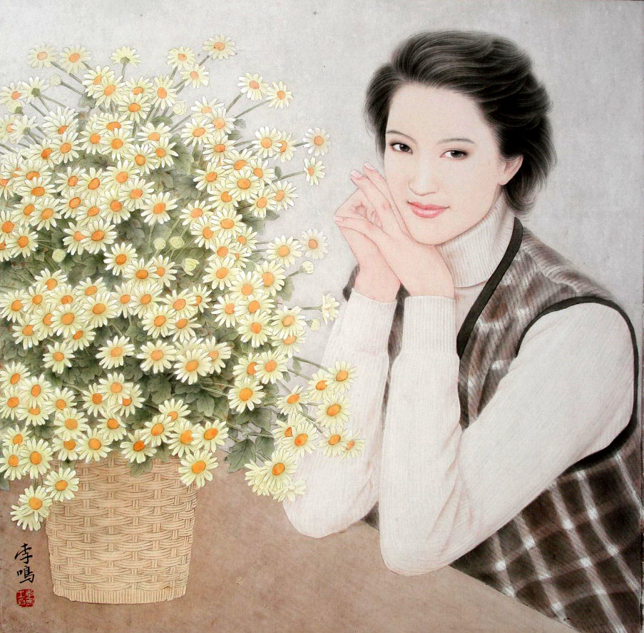 李鸣工笔画欣赏 - lijinguo1963 - lijinguo1963的博客