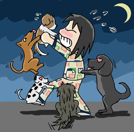 绝色佳狗 - 小步 - 小步漫画日记