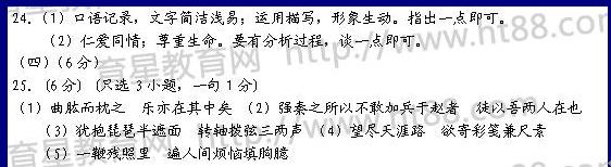 浙江省杭州学军中学2009届高三第十次月考文言文部分试题及答案 - 水化学 - 中学化学
