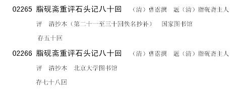 文化部受骗文件出错,国家图书馆公然展假(上篇) - 陈林 - 谁解红楼?标准答案:陈林