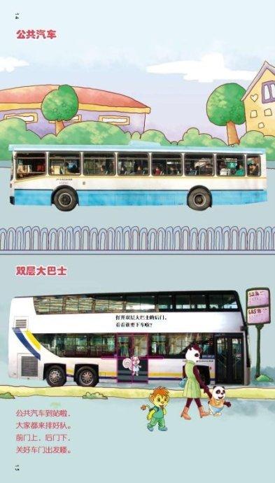 公共汽车-布奇乐乐园1 2岁版 几首关于车子的儿歌高清图片