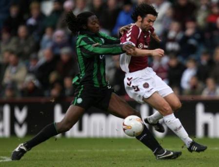 苏格兰超级联赛第二十四轮 Hearts 1 2 Celtic 14.01.2007