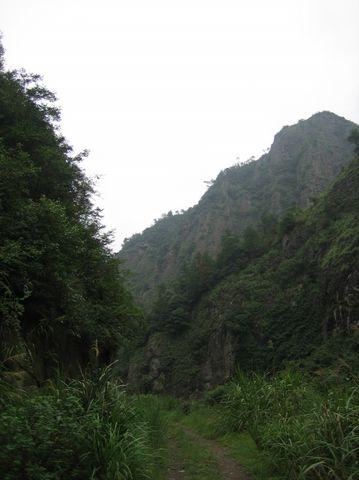 石门幽谷 - 江村一老头 - 江村一老头的茅草屋
