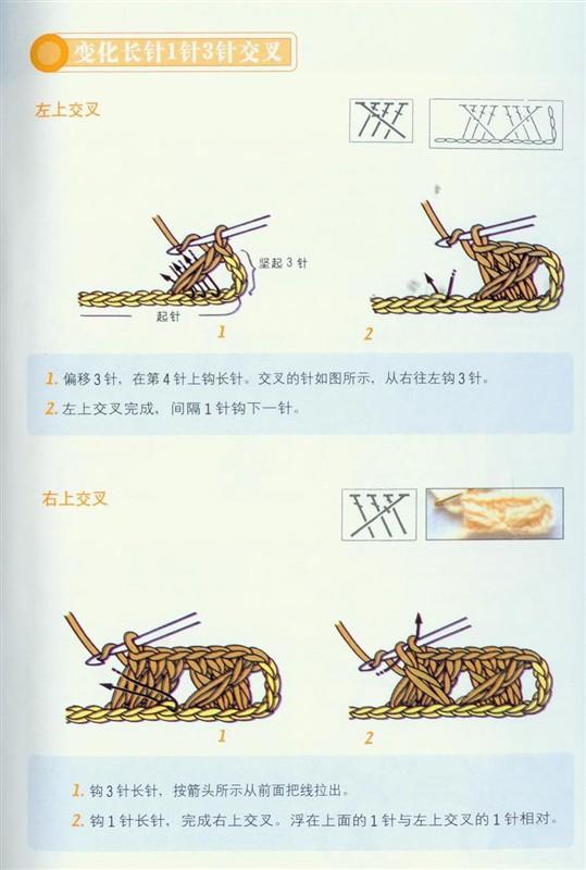 钩针基础(适合初学者) - 梅兰竹菊 - 梅兰竹菊的博客