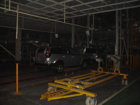 参观保定长城汽车厂高清图片