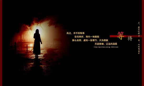 【栖心乐韵】等待(文:偶有花落至) - 冷浸溶溶月 - .