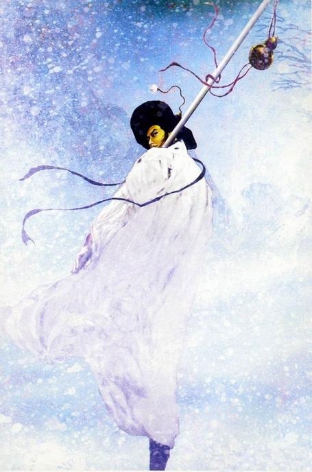 故事新编 之 夜奔(一) - 刘放 - 刘放的惊鸿一瞥