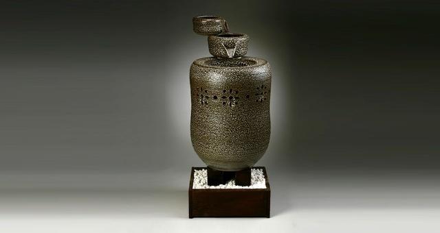 现代陶瓷作品欣赏 - 冷月无声 - 冷月无声