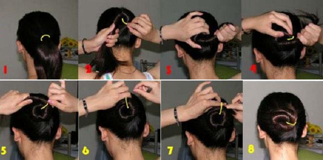 女士扎头发的几种方式! - 知己难求 - jlsplslzq 的博客