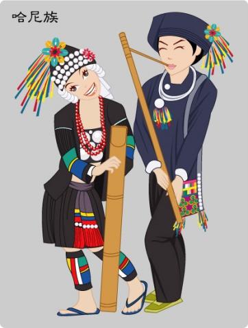 引用 56个民族服饰