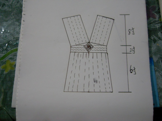 手工元素---钩花背心 尽显身材 - 浮萍 - 浮萍的博客