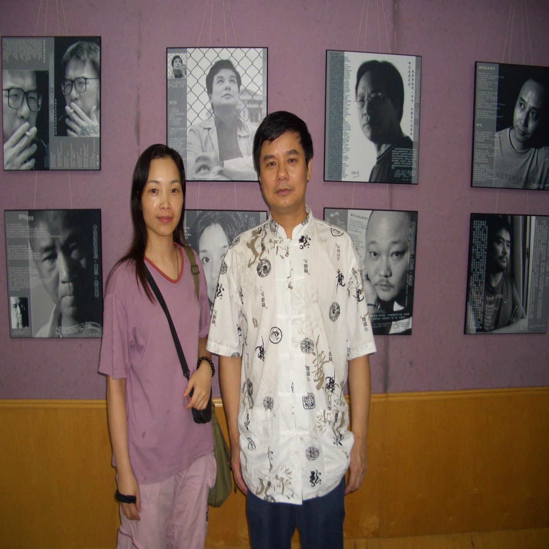 中国诗歌的脸之看展系列(及看展者为此写的诗) - 杨克 - 杨克博客