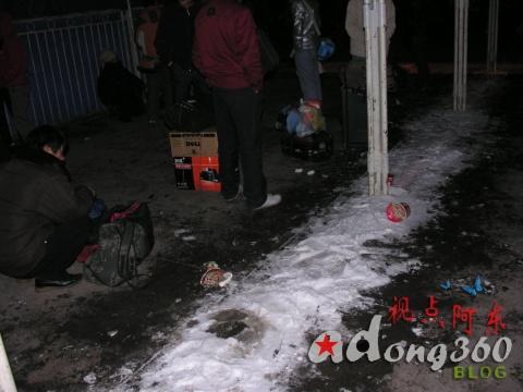 [春运直击]大雪封路电力遭破坏  列车难行旅客盼回家(组图) - 视点阿东 - 视点阿东