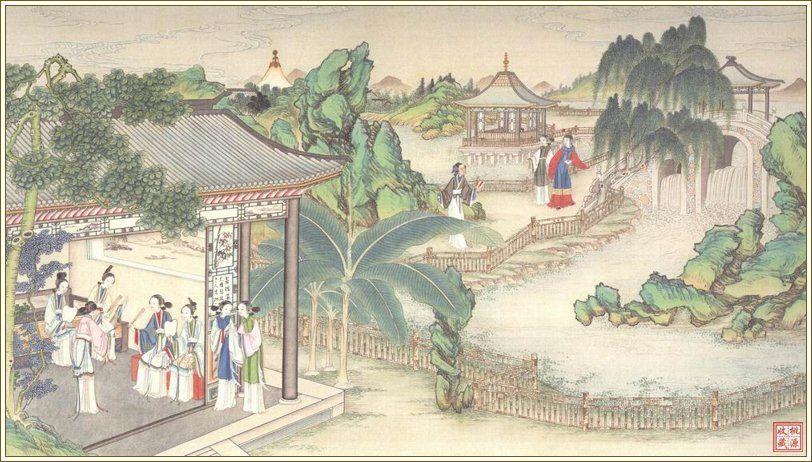 清孙温彩绘插图本法文版《红楼梦》 - Enya - Enya 的芭蕾世界