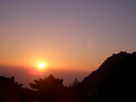 黄山日出 - 中国摄影 - 中国摄影