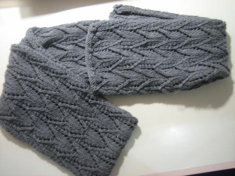 圍巾進行中 - 已完成, 圖解 - 文奇花 - 一方天地, 自娛自樂