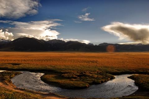 江河源头的日出日落 - 卓巴 - 尕多觉卧的寻梦缘