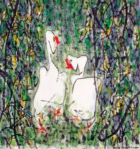 路中汉简谈写意花鸟画 - 苏文 - 中国当代美术家——路中汉