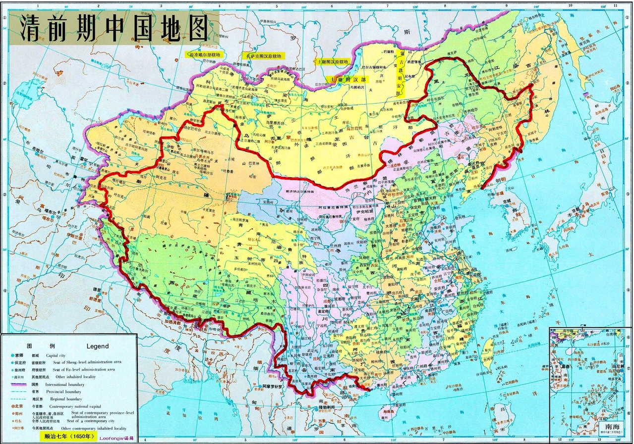 有经纬度的中国地图 高清地图