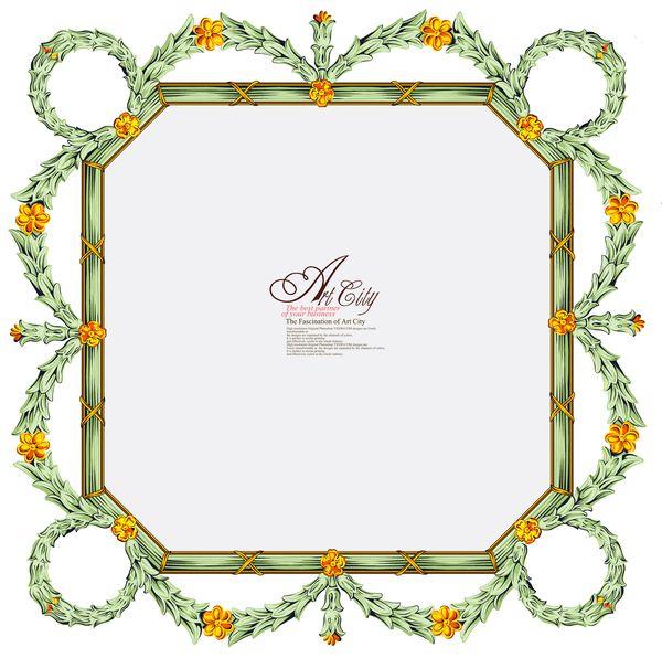 【边框素材】非常漂亮的花边相框