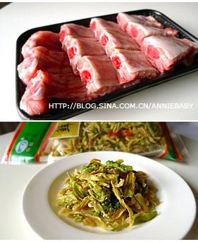 [原创]【Annie Cooks】香喷喷排骨饭、龙俐鱼柳炖豆腐粉条 - 安妮宝贝 - 安妮