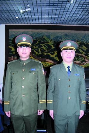 六十年的各式警服都是啥样 看真人试装 - 留阳旭日 - 留阳旭日