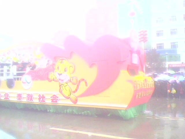 """2010年""""延安过大年""""元宵节秧歌展演 - 圣地白鸽 - 圣地白鸽(莺鸣)的鸟巢"""