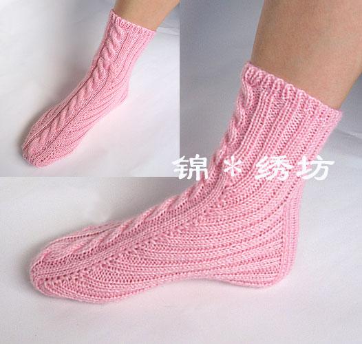 毛线袜子织法图解_婴儿毛线鞋的织法图解如何做婴儿毛线鞋_手工