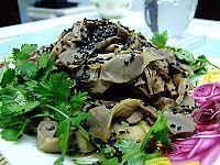 花肉拌菜心---技术含量为零的菜(附12款新手菜) - 可可西里 - 可可西里