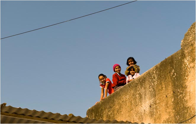 [原]色彩印度(05)· 心爱的小镇 - Tarzan - 走过大地