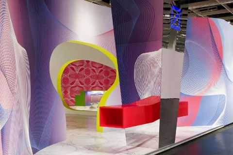 【创意设计】Karim Rashid设计的德国银行休息室 - 798 - 798