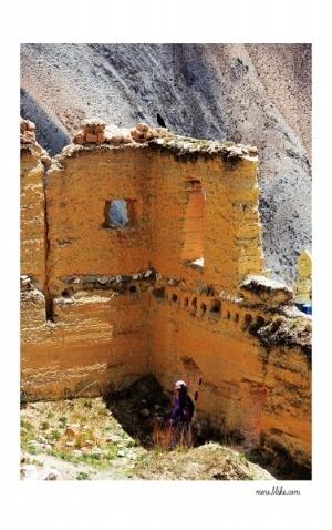 [原创] 结古寺的残墙  - 羊毛剪刀 - 玉树藏大美