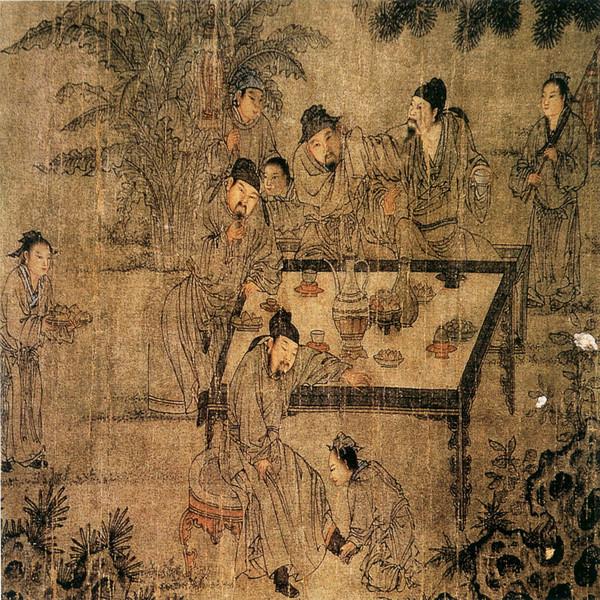 中国画古人物 - 奥若 - 驾驭海的河 ---- 文彬博览