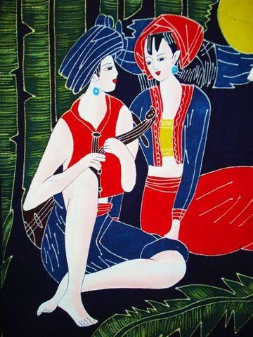 蜡染艺术 - 流通 - 流通博客