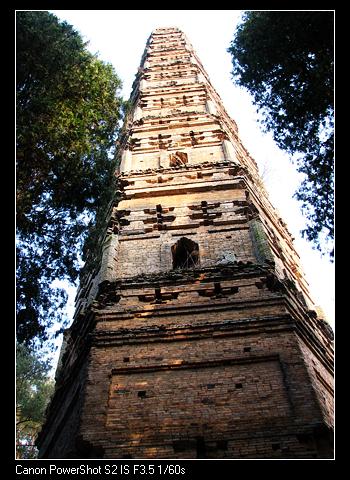 1300年沧桑隋塔 - 万木 - 厉楠征途