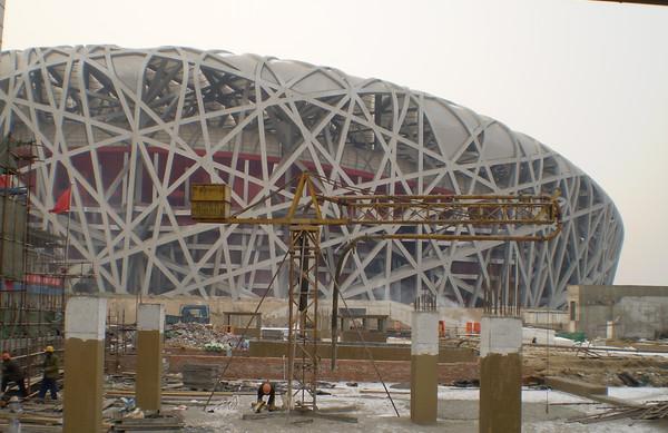 """""""鸟巢""""[北京2008年奥运会开幕式和闭幕式的体育场馆] - 佩刀使者 - 佩刀使者"""