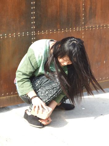 """北京""""前提""""行为艺术现场图片全过程 - 安静的电吉他 - 王军艺术论坛"""