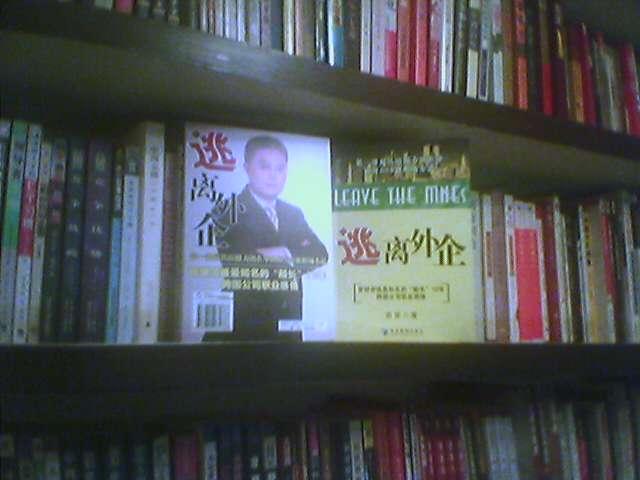 书架上多了本自己写的书《逃离外企》 - yuleiblog - 俞雷的博客
