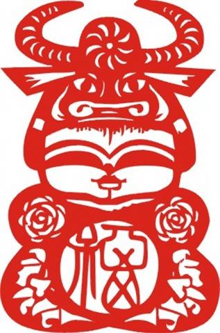 【转载】十二生肖娃娃--剪纸 - 幸福花语 - 幸福花语