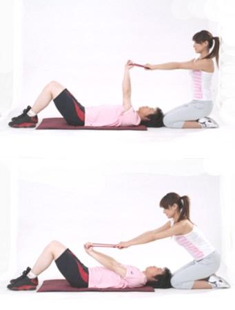减肥:睡前10分钟练习 胳膊细一圈(组图) - 金山 - 金山教你如何边吃边减重